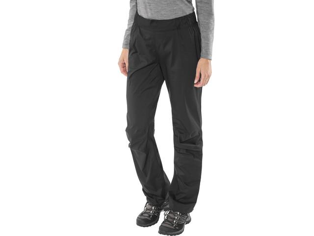 Black Diamond Stormline Pantalones de Lluvia Elásticos Mujer, black